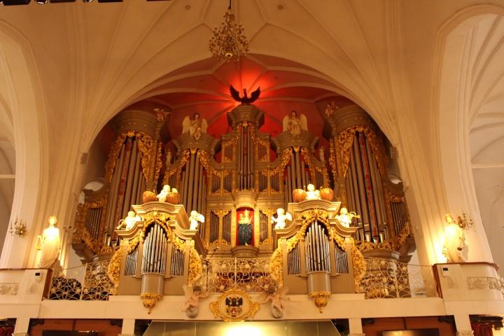Orgel im Dom von Königsberg