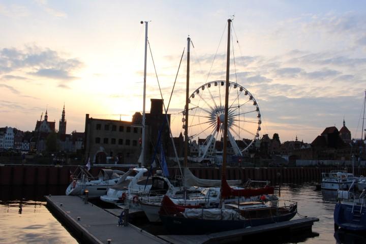Rith im Yachthafen in Danzig