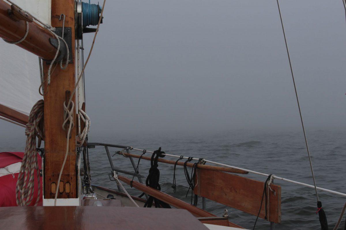 dicker Nebel im Nothafen
