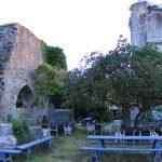 Garten in Ruine
