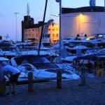 Kunststoffboote im Hafen