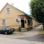 Kleines Gasthaus an der Hauptstraße von Haapsalu